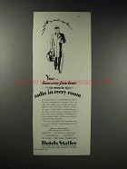 1929 Hotels Statler Ad - Your Home Away from Home
