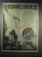 1920 Fairbanks-Morse Engines Ad - Prime Movers