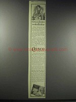 1914 Crisco Shortening Ad - Invites to the Kitchen