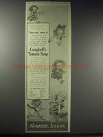 1914 Campbell's Tomato Soup Ad - They Can't Resist It