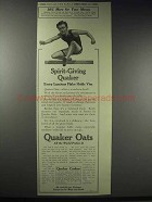 1914 Quaker Oats Ad - Spirit-Giving