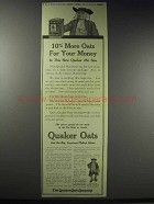 1914 Quaker Oats Ad - 10% More Oats For Your Money