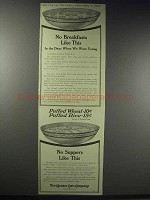 1914 Quaker Puffed Wheat & Rice Ad - Breakfasts