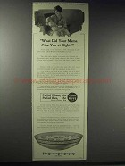 1914 Quaker Puffed Wheat & Rice Ad - Your Mama Give You