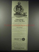 1914 Quaker Puffed Wheat & Rice Ad - If the Grocer Sold