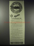 1915 Willys-Overland Car Ad - A Crackerjack Gift