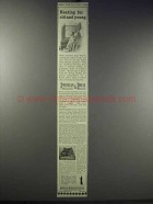 1913 American Radiators & Ideal Boilers Ad - Old Young