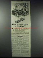 1913 Willys-Overland Cars Ad - Going to Grandma's