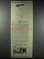 1913 Willys-Overland Cars Ad - Be Automobile Expert