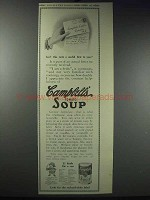 1913 Campbell's Tomato Soup Ad - A Useful Hint
