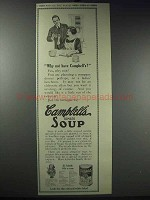 1913 Campbell's Tomato Soup Ad - Why Not Have