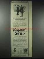 1913 Campbell's Tomato Soup Ad - We'd Like To Show You
