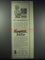 1913 Campbell's Chicken Soup Ad - Here's Where
