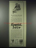 1913 Campbell's Tomato Soup Ad - Six of the Tomato