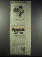 1913 Campbell's Tomato Soup Ad - Beats a Cock-Tail