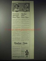 1913 Quaker Oats Ad - Does This