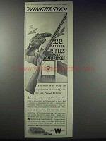 1913 Winchester Rifles and Cartridges Ad - For Boys