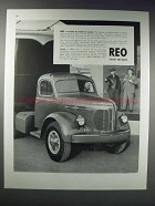 1948 Reo Truck Ad - A Name to Watch in Trucks