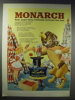 1948 Monarch Tomato Catsup Ad - World's Largest Family