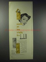 1948 Dunhill Cigarette Lighters Ad - Someone You Know