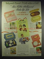 1948 Max Factor Make-up Set Ad - Pan-Cake, Vanity