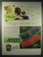 1948 Amity Director & Directress Billfold Ad