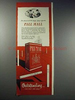 1948 Pall Mall Cigarettes Ad - I've Discovered