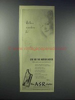 1948 A.S.R. American Safety Razor Cigarette Lighter Ad