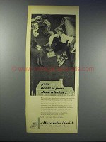 1948 Alexander Smith Rugs Ad - Your Home is Show Window