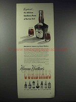 1948 Hiram Walker's Blackberry Liqueur Ad - Captured