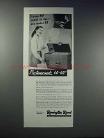 1948 Remington Rand Portagraph 60-60 Ad