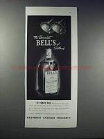 1948 Bell's Scotch Ad - The Bonniest Bell's