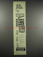 1948 Planters Cocktail Salted Peanuts and Mixed Nuts Ad