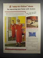 1954 Pittsburgh Plate Glass Ad - Easy-to-Follow Ideas