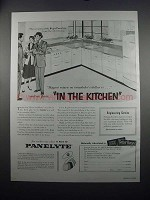 1954 St. Regis Panelyte Ad - In the Kitchen