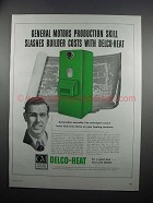 1954 General Motors Delco-Heat Conditionair GBC90-H Ad