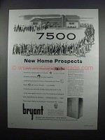 1954 Bryant Command-Aire Twin Heating & Cooling Ad