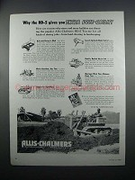 1954 Allis-Chalmers HD-5 Tractor Ad - Doze-Ability