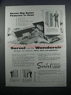 1954 Servel Wonderair Air Conditioner Ad