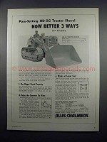 1954 Allis-Chalmers HD-5G Tractor Shovel Ad - Better