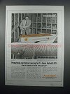 1954 Anaconda Pre-Formed Ceiling Panel Grid Ad