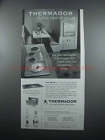 1954 Thermador Bilt-In Electric Ranges Ad