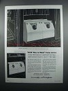 1954 Westinghouse De Luxe Laundromat & Clothes Dryer Ad