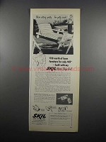 1953 Skil Home Shop Drill Model 549 Ad - Sitting Pretty
