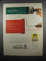 1953 Benjamin Moore Paints Ad - Fresh, Clear Colors