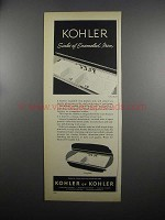 1953 Kohler Clearfield and Winfield Sinks Ad