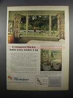 1953 Libbey-Owens-Ford Thermopane Insulating Glass Ad