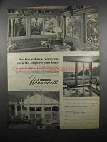 1953 Andersen Windowalls Ad - Nature's Beauty