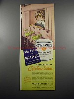 1953 Pratt & Lambert Cellu-Tone Satin Paint Ad