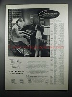 1953 Conn Connsonata Organ Ad - The New Favorite
